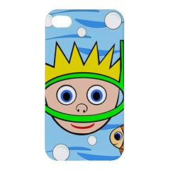 Diver Apple Iphone 4/4s Premium Hardshell Case by Valentinaart