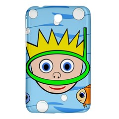 Diver Samsung Galaxy Tab 3 (7 ) P3200 Hardshell Case  by Valentinaart