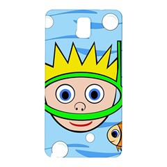 Diver Samsung Galaxy Note 3 N9005 Hardshell Back Case by Valentinaart