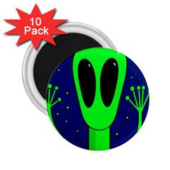 Alien  2 25  Magnets (10 Pack)  by Valentinaart