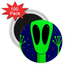 Alien  2 25  Magnets (100 Pack)  by Valentinaart