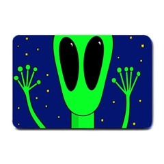 Alien  Small Doormat  by Valentinaart
