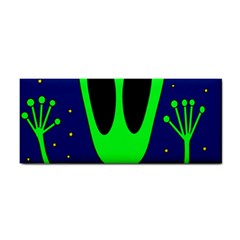 Alien  Hand Towel by Valentinaart