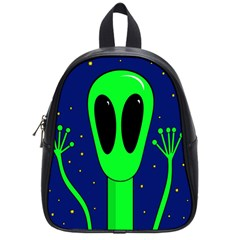 Alien  School Bags (small)  by Valentinaart