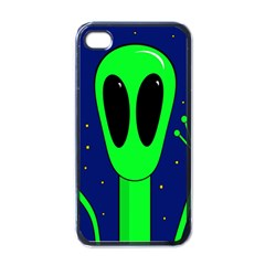 Alien  Apple Iphone 4 Case (black) by Valentinaart