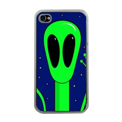 Alien  Apple Iphone 4 Case (clear) by Valentinaart