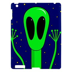 Alien  Apple Ipad 3/4 Hardshell Case by Valentinaart
