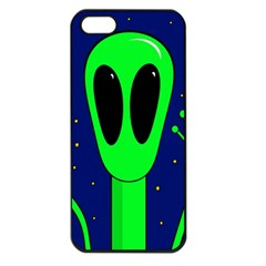 Alien  Apple Iphone 5 Seamless Case (black) by Valentinaart