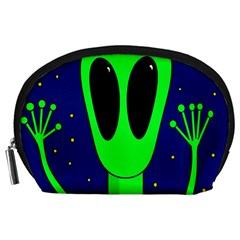Alien  Accessory Pouches (large)  by Valentinaart