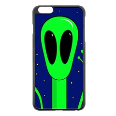 Alien  Apple Iphone 6 Plus/6s Plus Black Enamel Case by Valentinaart