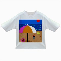 On The Beach  Infant/toddler T-shirts by Valentinaart