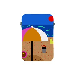 On The Beach  Apple Ipad Mini Protective Soft Cases by Valentinaart