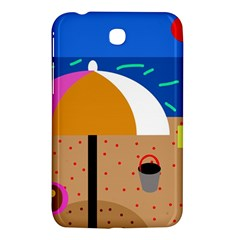 On The Beach  Samsung Galaxy Tab 3 (7 ) P3200 Hardshell Case  by Valentinaart