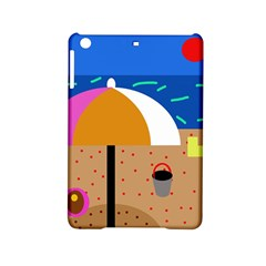 On The Beach  Ipad Mini 2 Hardshell Cases by Valentinaart