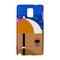 On The Beach  Samsung Galaxy Note 4 Hardshell Case by Valentinaart