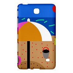 On The Beach  Samsung Galaxy Tab 4 (7 ) Hardshell Case  by Valentinaart