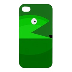 Green Monster Fish Apple Iphone 4/4s Hardshell Case by Valentinaart