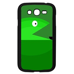 Green Monster Fish Samsung Galaxy Grand Duos I9082 Case (black) by Valentinaart