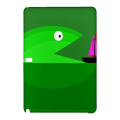 Green Monster Fish Samsung Galaxy Tab Pro 10 1 Hardshell Case by Valentinaart