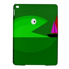 Green Monster Fish Ipad Air 2 Hardshell Cases by Valentinaart