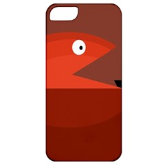 Red Monster Fish Apple Iphone 5 Classic Hardshell Case by Valentinaart