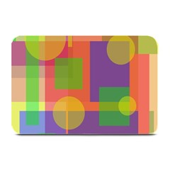 Colorful Geometrical Design Plate Mats by Valentinaart