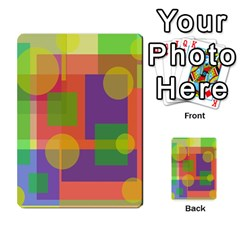 Colorful Geometrical Design Multi-purpose Cards (rectangle)  by Valentinaart