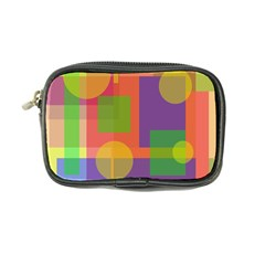 Colorful Geometrical Design Coin Purse by Valentinaart