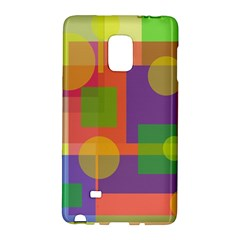 Colorful Geometrical Design Galaxy Note Edge by Valentinaart