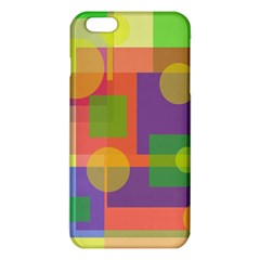 Colorful Geometrical Design Iphone 6 Plus/6s Plus Tpu Case by Valentinaart