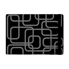 Black And Gray Decorative Design Ipad Mini 2 Flip Cases by Valentinaart