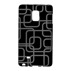 Black And Gray Decorative Design Galaxy Note Edge by Valentinaart