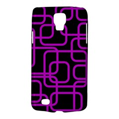Purple And Black Elegant Design Galaxy S4 Active by Valentinaart