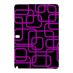Purple And Black Elegant Design Samsung Galaxy Tab Pro 10 1 Hardshell Case by Valentinaart