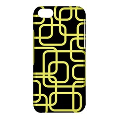 Yellow And Black Decorative Design Apple Iphone 5c Hardshell Case by Valentinaart