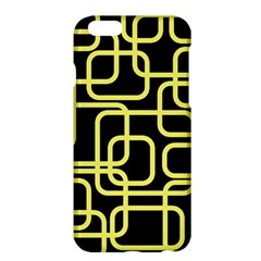 Yellow And Black Decorative Design Apple Iphone 6 Plus/6s Plus Hardshell Case by Valentinaart