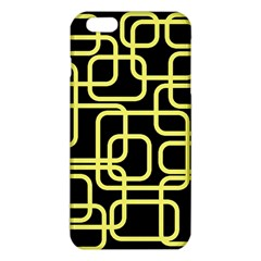 Yellow And Black Decorative Design Iphone 6 Plus/6s Plus Tpu Case by Valentinaart