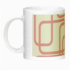 Pink Elegant Design Night Luminous Mugs