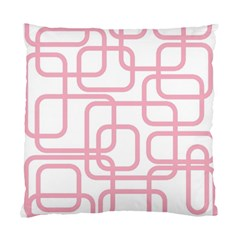 Pink Elegant Design Standard Cushion Case (one Side) by Valentinaart