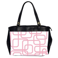 Pink Elegant Design Office Handbags (2 Sides)