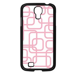 Pink Elegant Design Samsung Galaxy S4 I9500/ I9505 Case (black) by Valentinaart