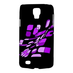 Purple Decorative Abstraction Galaxy S4 Active by Valentinaart