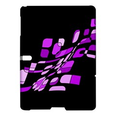 Purple Decorative Abstraction Samsung Galaxy Tab S (10 5 ) Hardshell Case  by Valentinaart