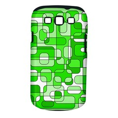 Green Decorative Abstraction  Samsung Galaxy S Iii Classic Hardshell Case (pc+silicone) by Valentinaart