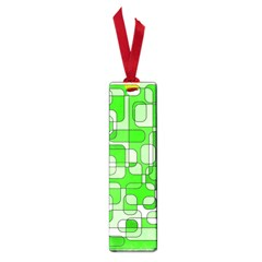 Green Decorative Abstraction  Small Book Marks by Valentinaart