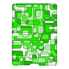 Green Decorative Abstraction  Samsung Galaxy Tab S (10 5 ) Hardshell Case  by Valentinaart