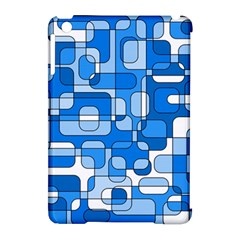 Blue Decorative Abstraction Apple Ipad Mini Hardshell Case (compatible With Smart Cover) by Valentinaart