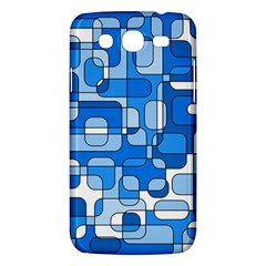 Blue Decorative Abstraction Samsung Galaxy Mega 5 8 I9152 Hardshell Case  by Valentinaart