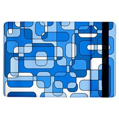 Blue Decorative Abstraction Ipad Air Flip by Valentinaart