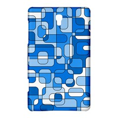 Blue Decorative Abstraction Samsung Galaxy Tab S (8 4 ) Hardshell Case  by Valentinaart